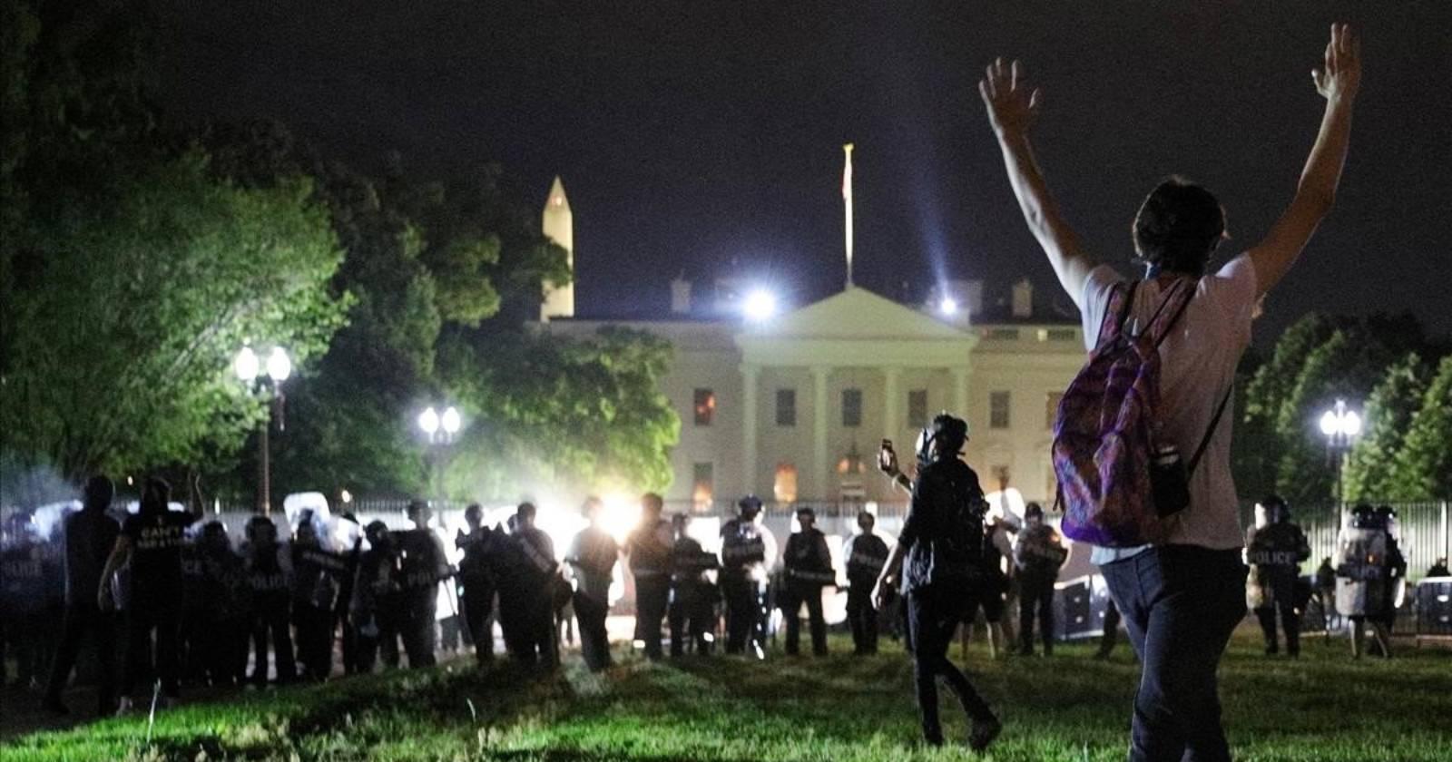 La Casa Blanca mantendrá cerrado sus alrededores hasta el 10 de junio