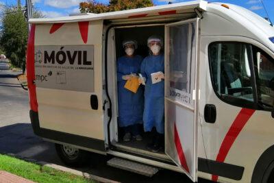 Clínicas Móviles realizaron cerca de 2 mil test de coronavirus en abril y mayo