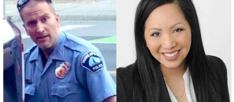 Kellie Chauvin, la esposa del policía que mató a George Floyd, pidió el divorcio con dos condiciones