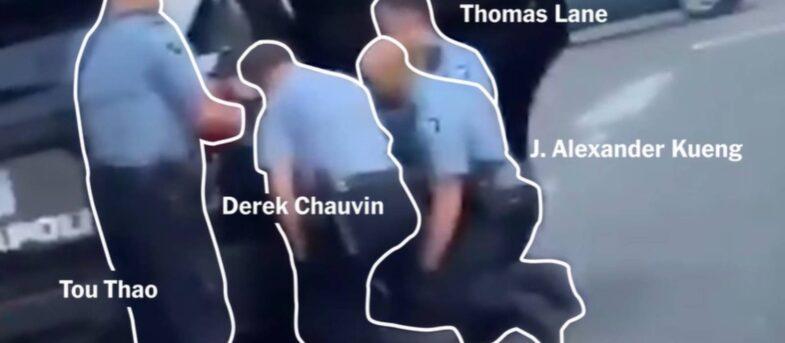 El revelador video que reconstruye el asesinato de George Floyd