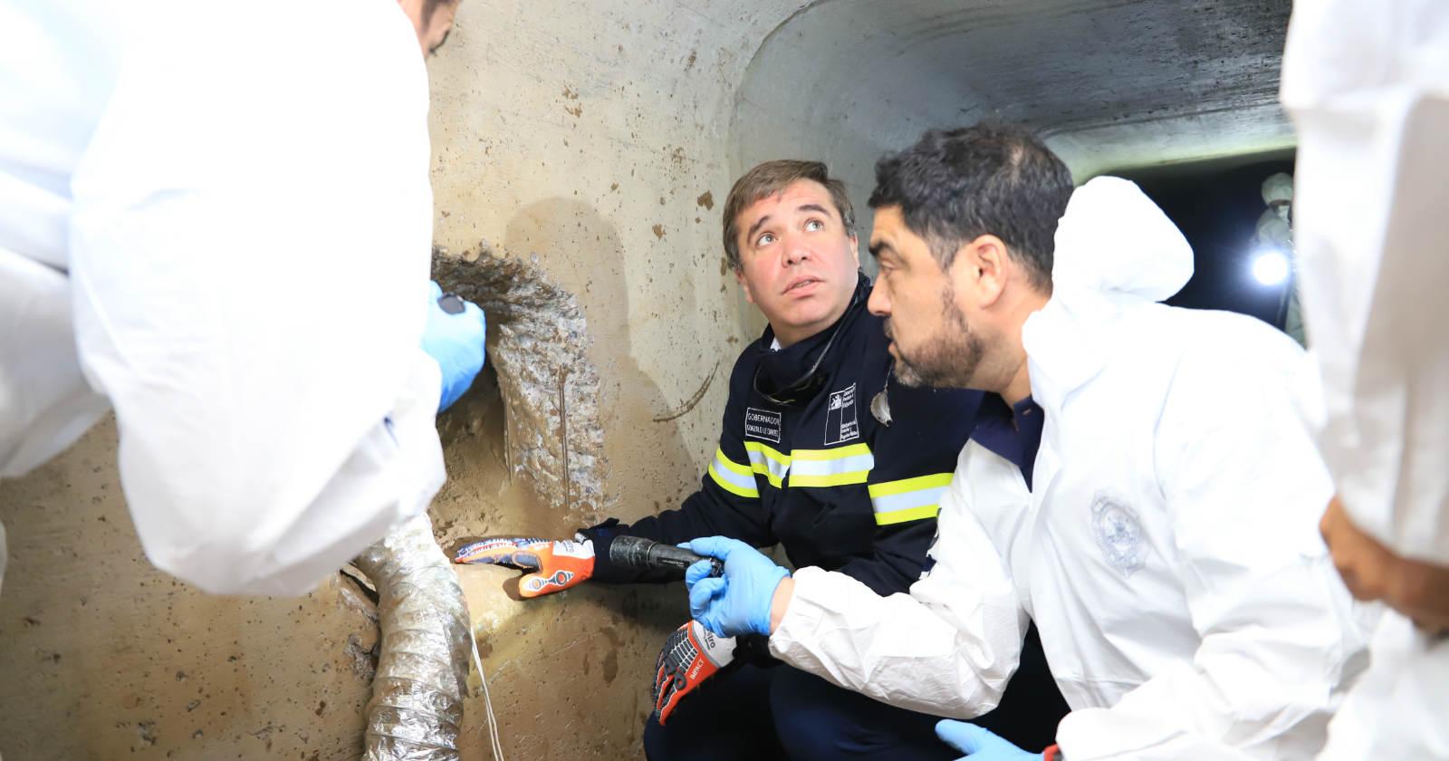 Georadares: la herramienta de las entidades bancarias para detectar túneles y evitar robos de película