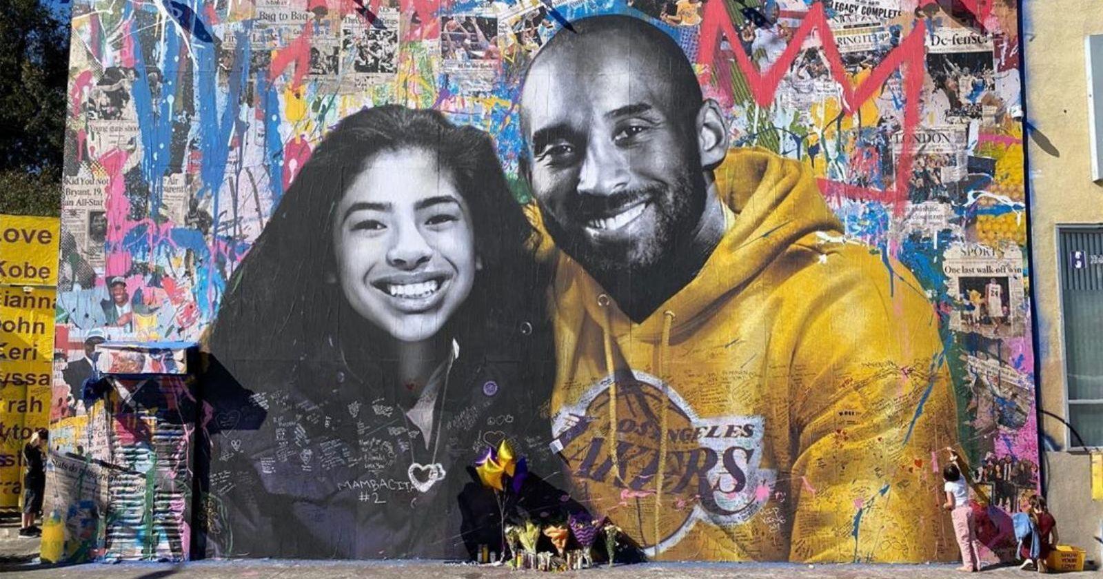 Murales de Kobe Bryant quedaron intactos tras las protestas en Estados Unidos