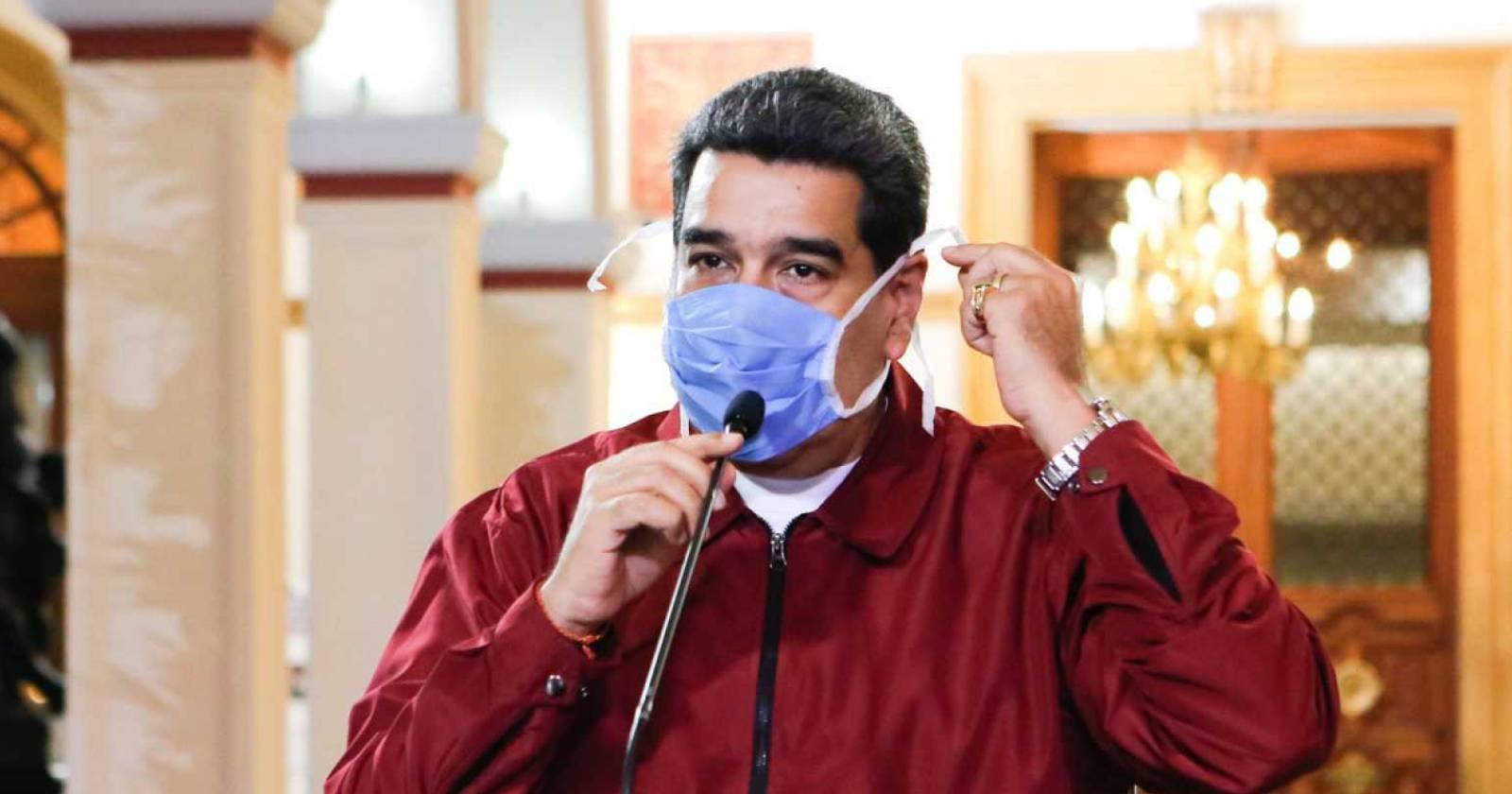 Maduro alertó de un rebrote de coronavirus en Venezuela y culpó a migrantes que regresaron