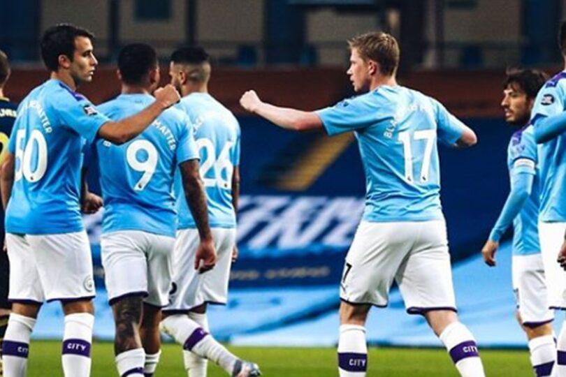 Sin Claudio Bravo: Manchester City venció a Arsenal en el regreso de la Premier League