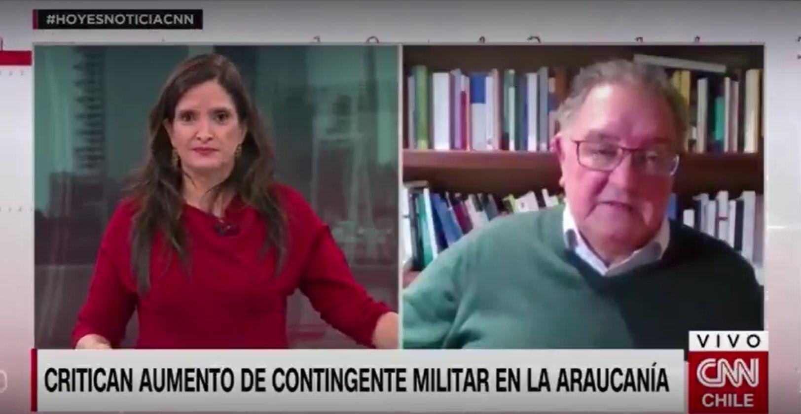 """VIDEO   """"¿Hablé mucho?"""": el chascarro en vivo de Matilde Burgos en CNN Chile"""