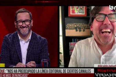 VIDEO | El troleo de Eduardo Fuentes al alcalde Jadue en el Mentiras Verdaderas