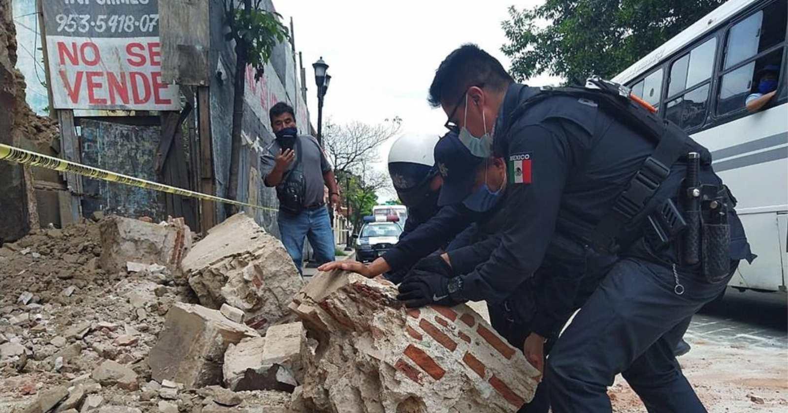 Más de 1.500 réplicas y al menos seis muertos ha dejado el terremoto en México