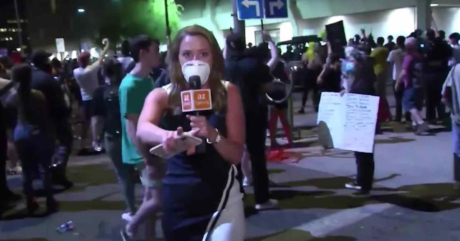Registran más de 140 ataques contra periodistas durante las protestas en Estados Unidos