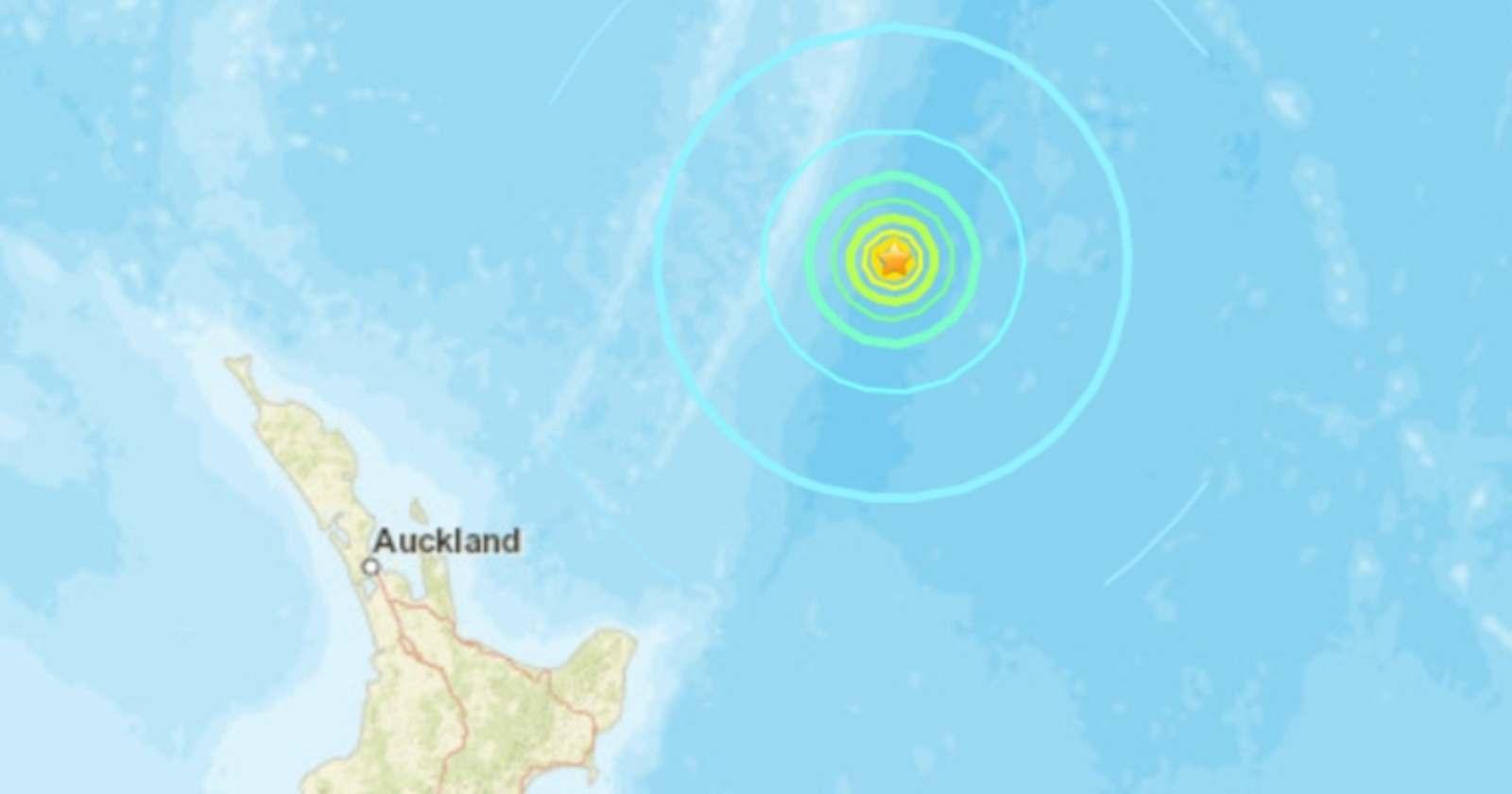 Descartan tsunami en costas chilenas tras terremoto de 7,4 en Nueva Zelanda
