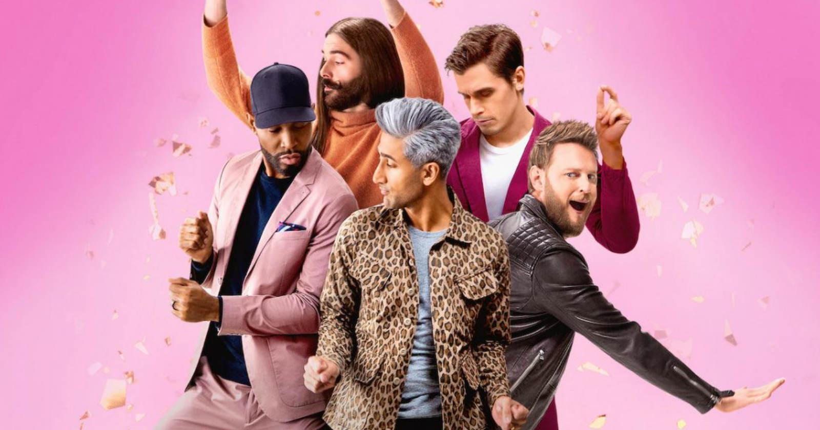 Queer Eye aterriza con su quinta temporada desde Filadelfia
