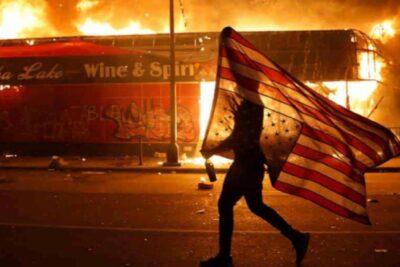 Sexta noche de protestas en EE.UU.: 40 ciudades con toque de queda y Trump protegido en búnker de la Casa Blanca
