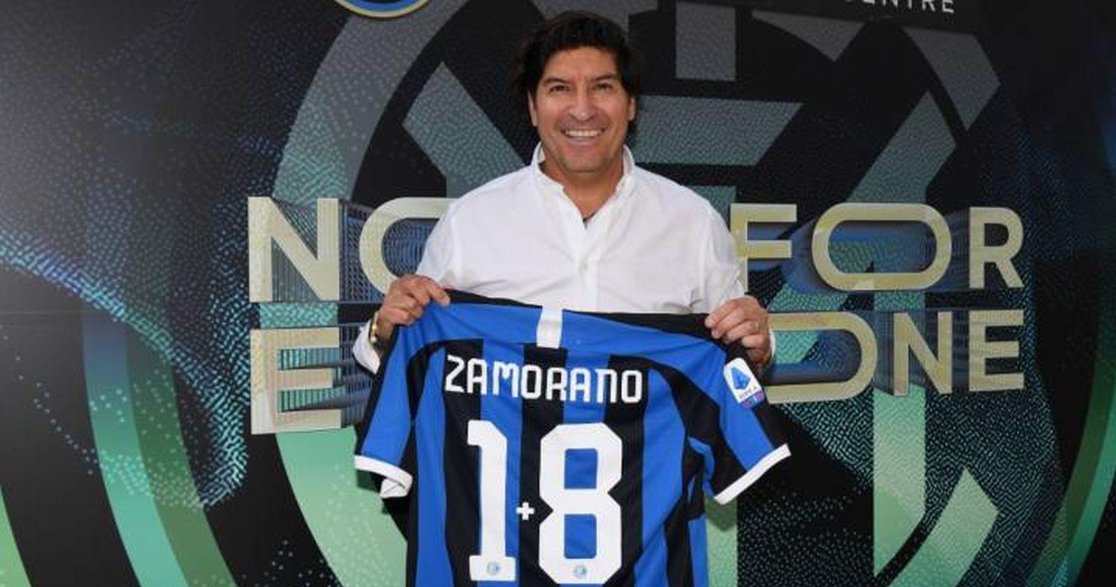 Iván Zamorano aparece como candidato al Salón de la Fama del Inter de Milán