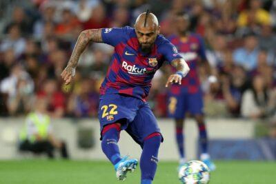 Arturo Vidal jugó los últimos minutos en la victoria del FC Barcelona sobre Espanyol