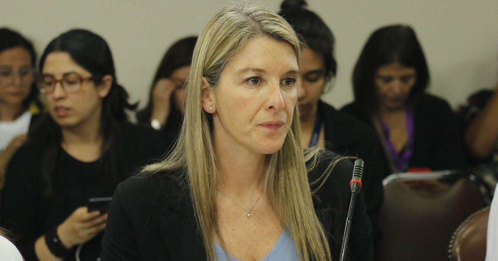 Marcela Sabat ocupará el puesto de Andrés Allamand en el Senado