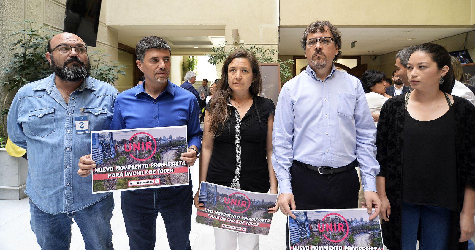 Movimiento Unir ingresa al Frente Amplio con dos diputados ex PS