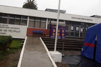 """Funcionaria de Carabineros reitera acusaciones contra Hospital de Melipilla: """"Dijeron que 'no atenderían más pacos'. Esa es la verdad"""""""