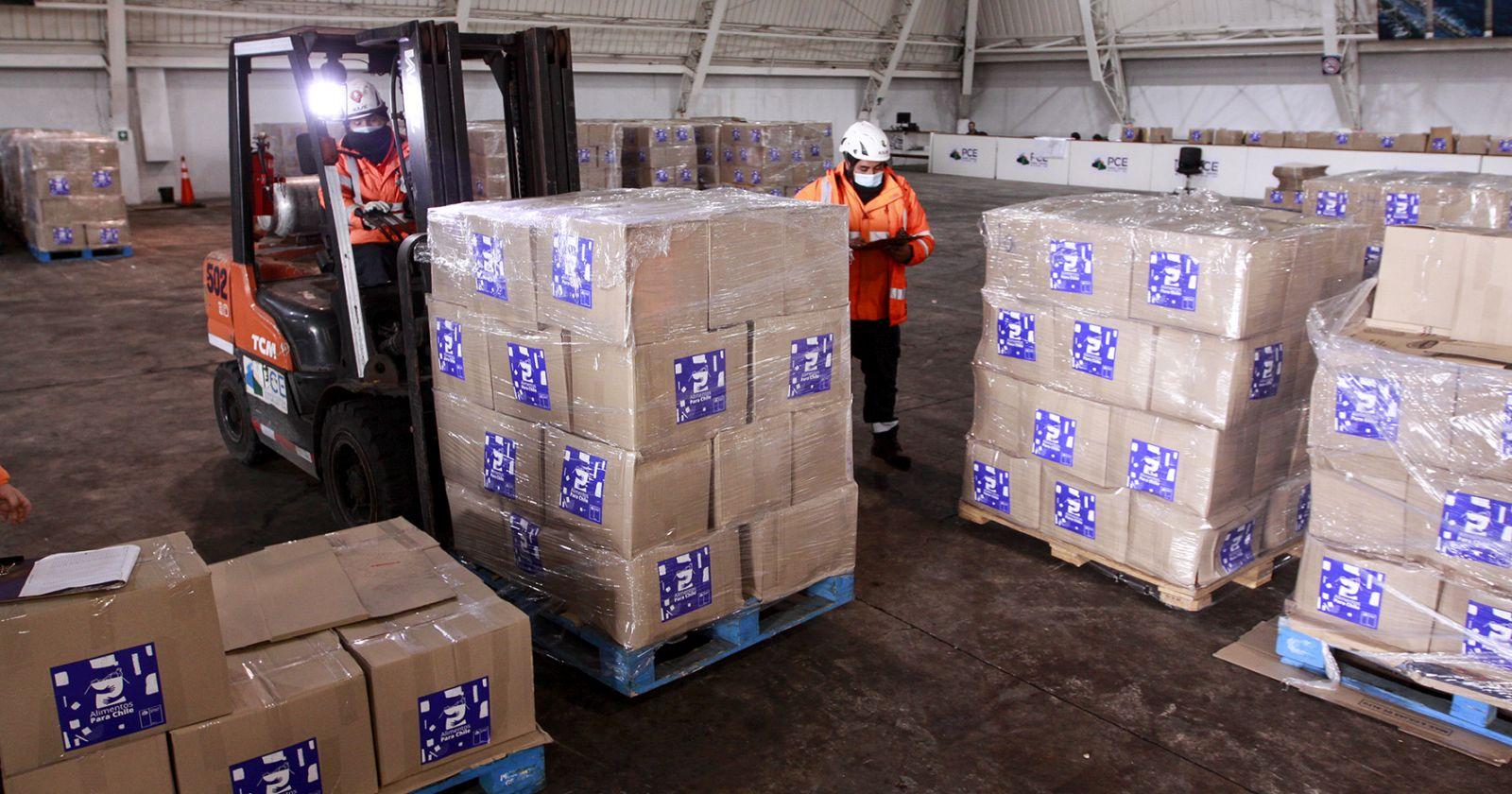 """""""Alcaldes piden mejorar proceso de distribución de cajas de alimentos"""""""
