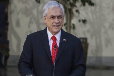 Presidente Piñera anuncia bono y préstamo solidario para la clase media