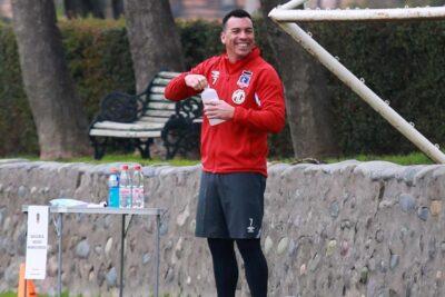 Con Esteban Paredes a la cabeza: Colo Colo regresó a las prácticas en el Monumental