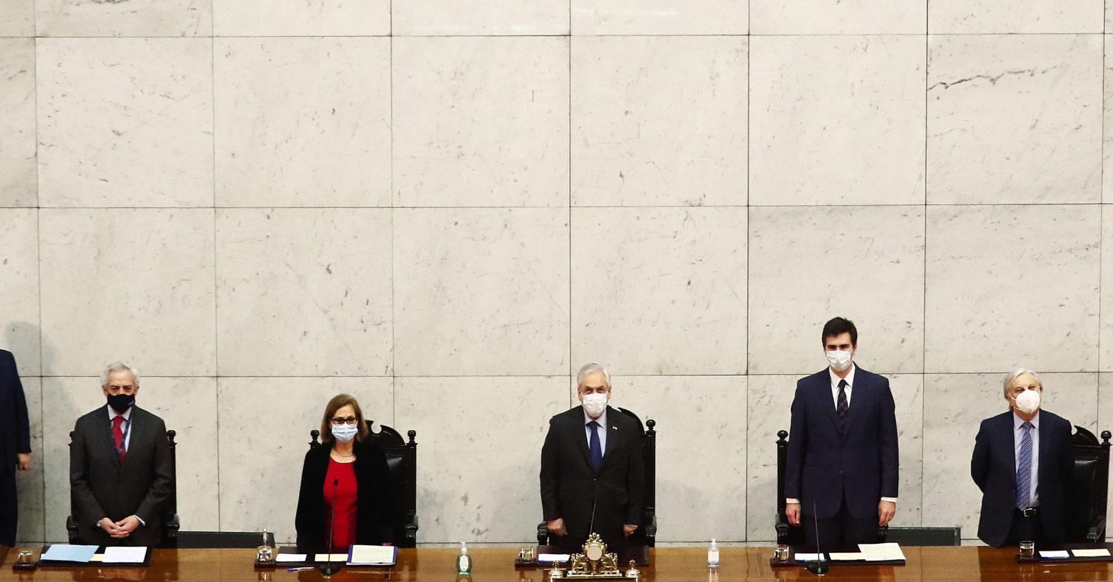 EN VIVO - Cuenta pública del Presidente Sebastián Piñera en el Congreso Nacional