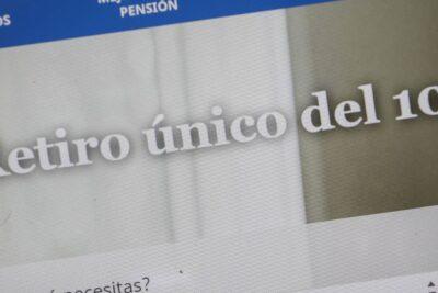 AFP: cerca de 3,4 millones de afiliados han solicitado el retiro del 10%