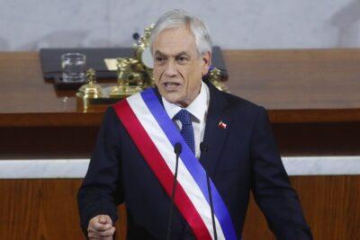 Piñera recuerda la noche más violenta tras el 18 de octubre