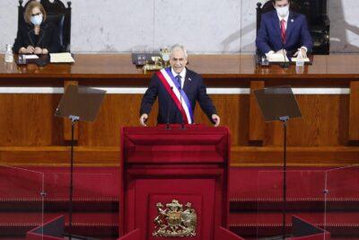 Cuenta Pública: Piñera llama a la unidad y hace mea culpa por entrega de cajas de ayuda
