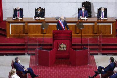 Piñera realiza inédita Cuenta Pública marcada por la pandemia y la crisis económica