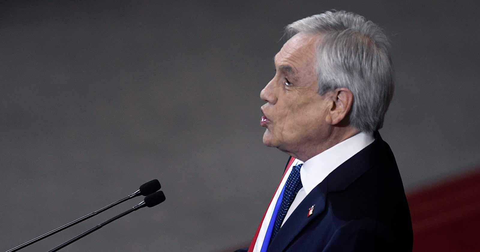 """Piñera recuerda a la Concertación en su Cuenta Pública: """"Tres décadas fecundas"""""""
