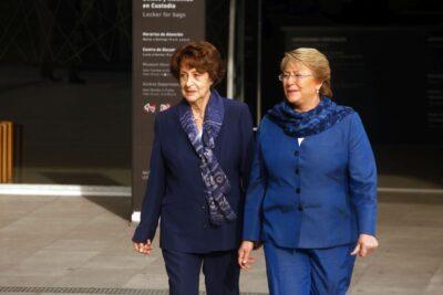 Michelle Bachelet agradece las muestras de apoyo tras la muerte de Ángela Jeria