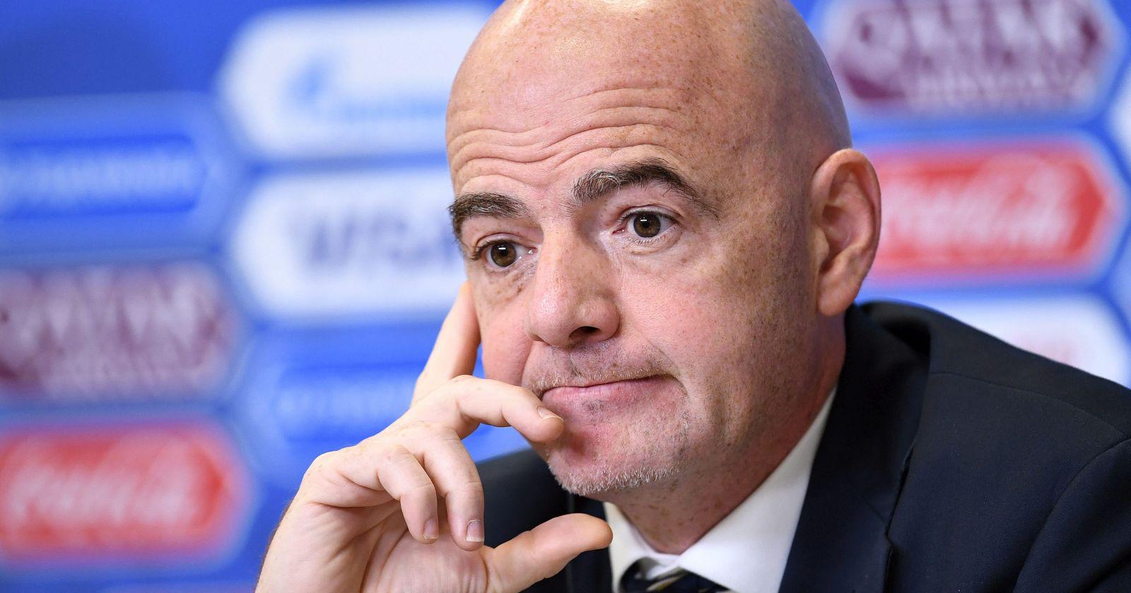 """""""Justicia de Suiza abrió una investigación contra el presidente de la FIFA"""""""