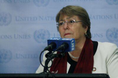 Michelle Bachelet llegó a Chile para despedir a Ángela Jeria