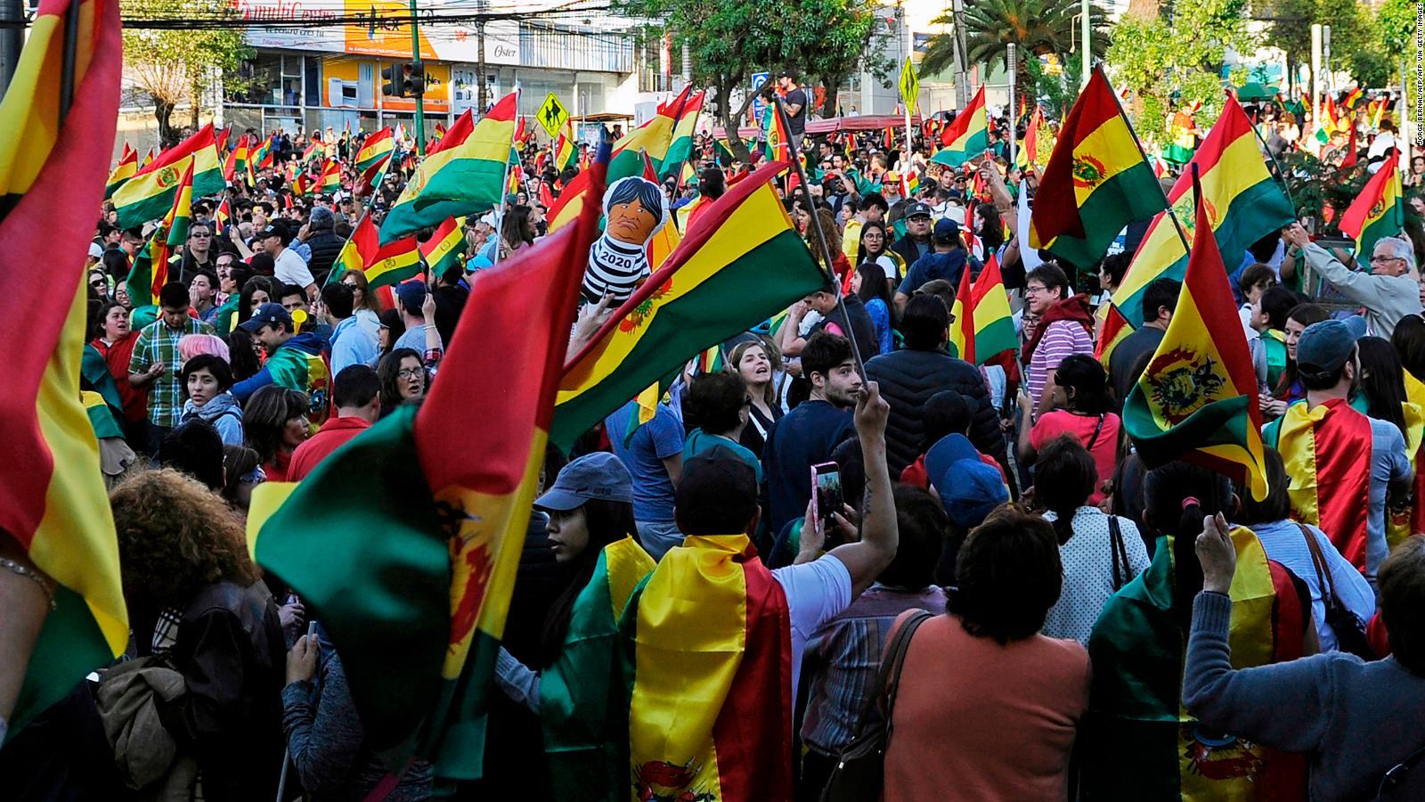 Cuatro escenarios posibles en los que puede desembocar la crisis boliviana