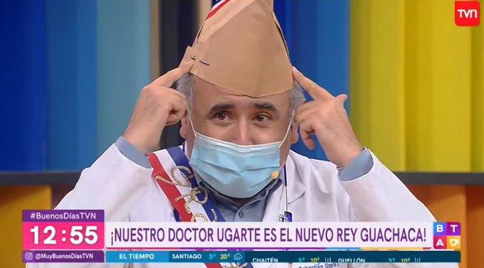 Doctor Ugarte es elegido como nuevo Rey Guachaca 2020