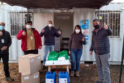 CMPC donó más de 50 mil mascarillas a comunidades indígenas, organizaciones sociales y municipalidades de Nacimiento, Laja y Collipulli