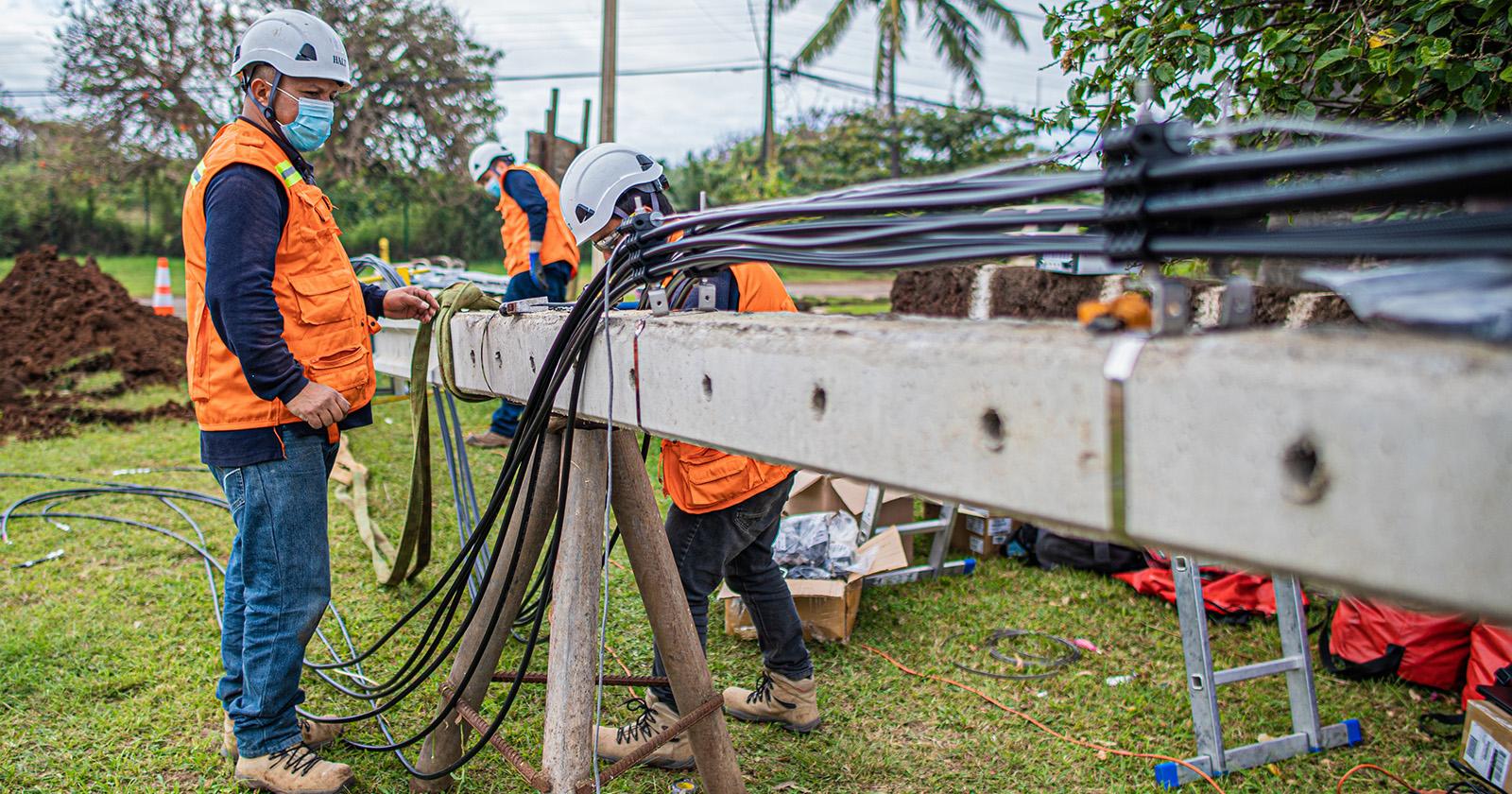 """""""Rapa Nui recibe importantes mejoras en conectividad durante contingencia sanitaria"""""""