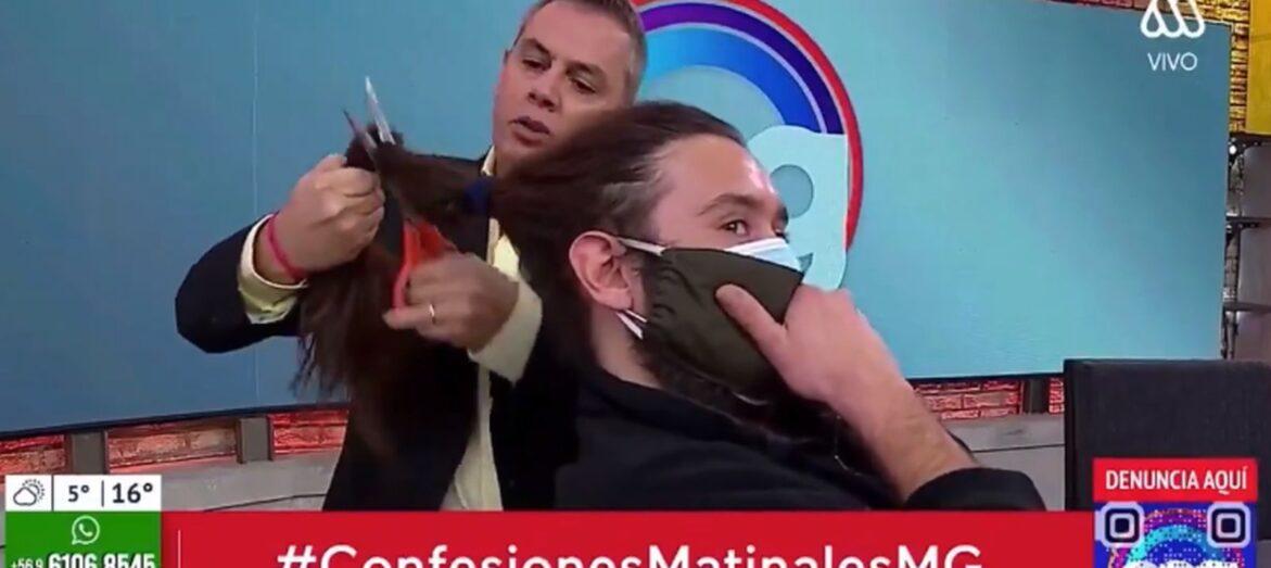 Camarógrafo demanda a José Miguel Viñuela por cortarle el pelo en pantalla
