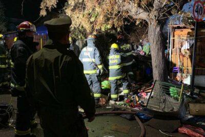 Incendio en vivienda de Cerrillos dejó un adulto mayor fallecido y un desaparecido