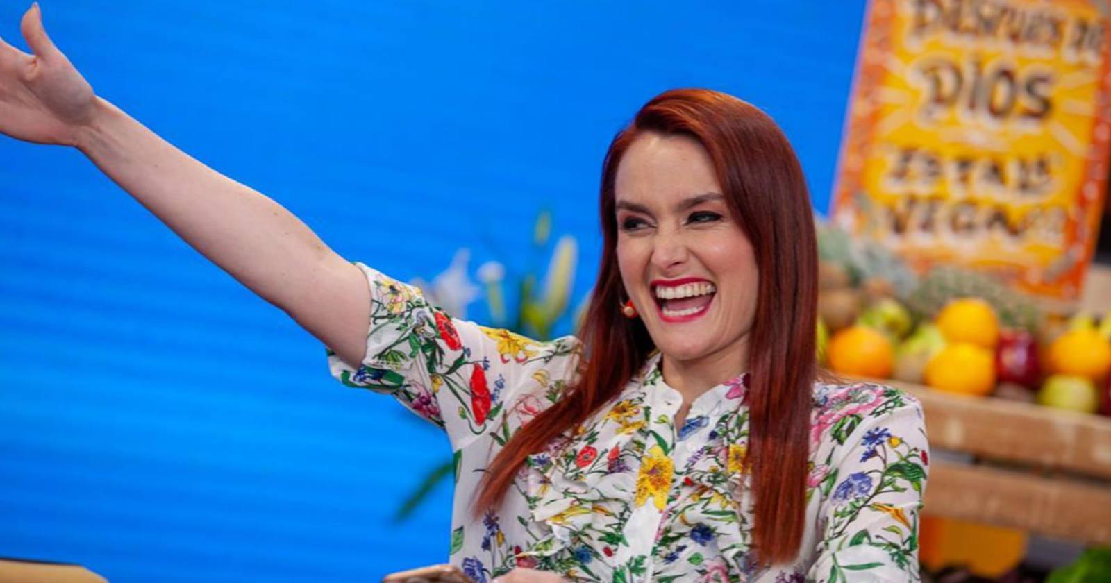 """""""Con esta sonrisa me despido"""": Begoña Basauri anuncia su salida del Mucho Gusto"""
