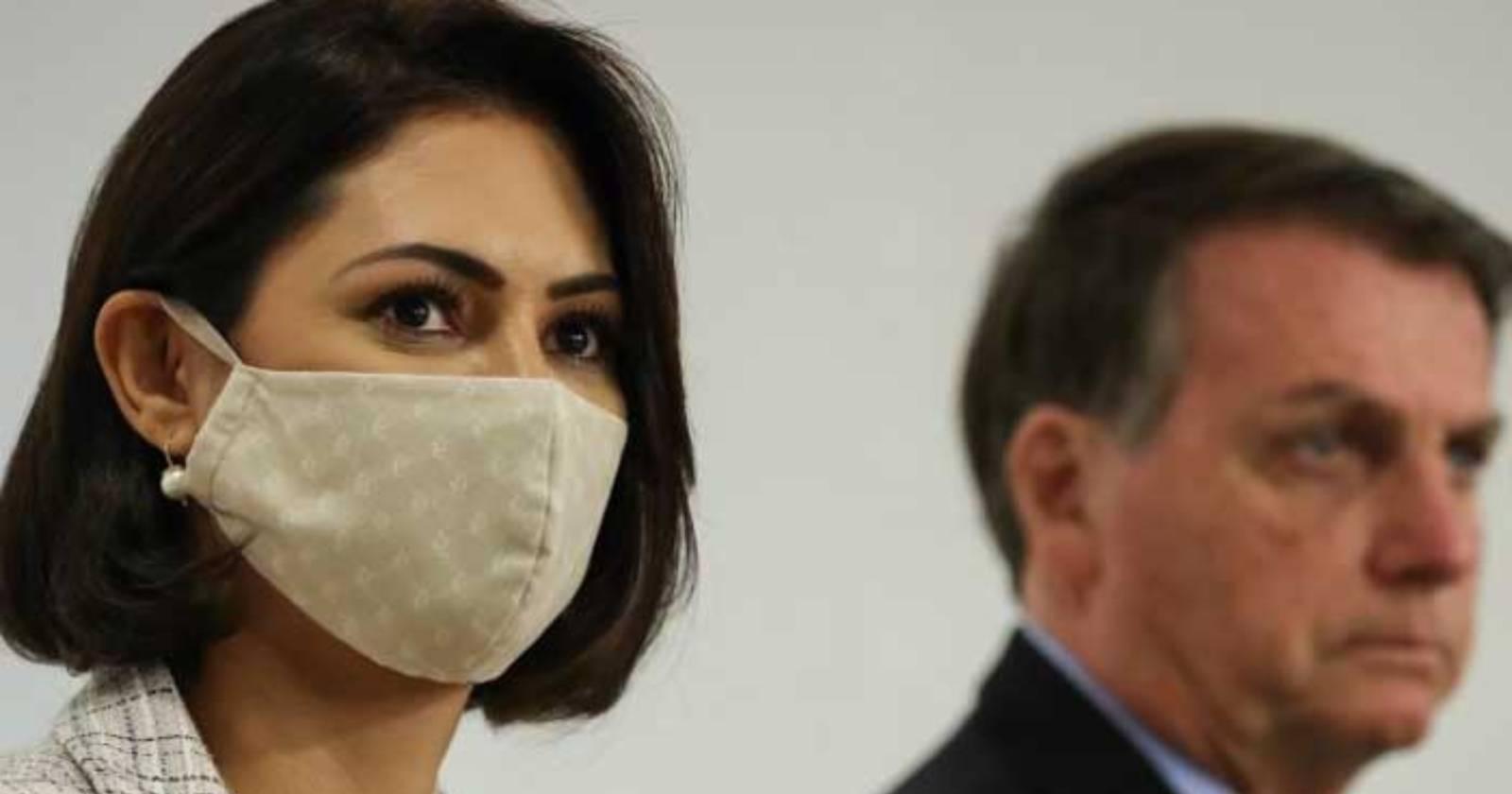 Confirman que esposa de Jair Bolsonaro tiene coronavirus