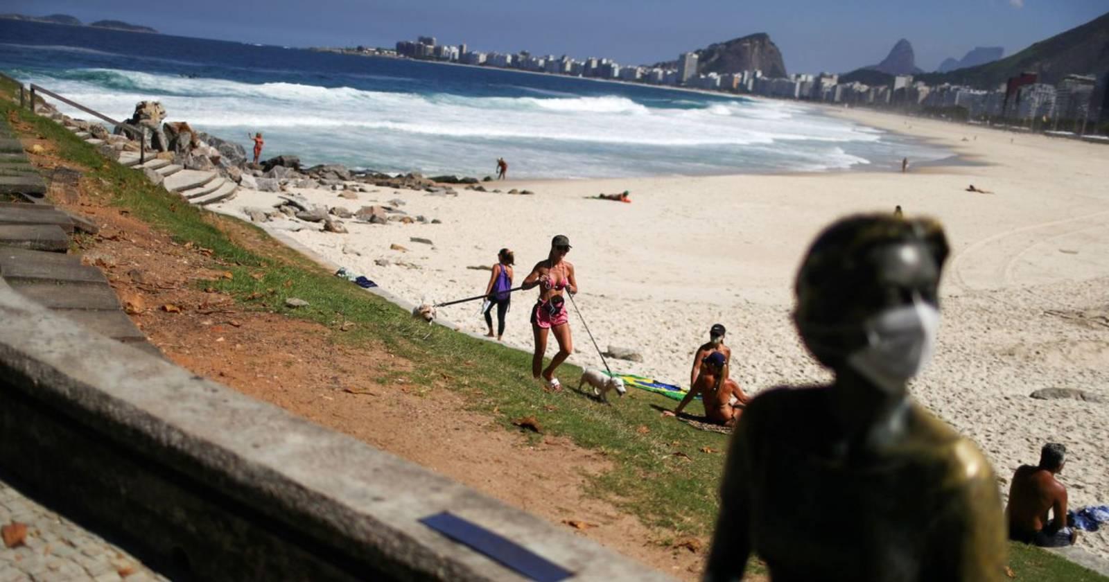 """""""Brasil abre sus fronteras a extranjeros en medio de peak de contagios de coronavirus"""""""