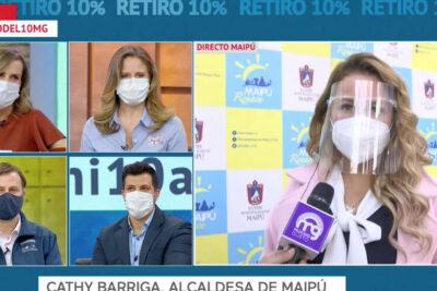 """Cathy Barriga: """"También me deben la pensión alimenticia"""""""
