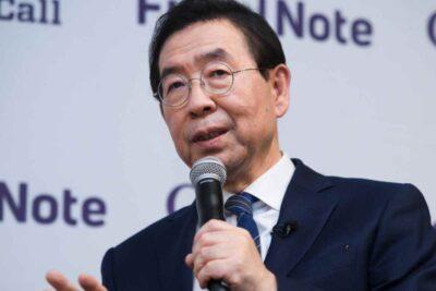 Conmoción en Corea del Sur: encuentran muerto al alcalde de Seúl