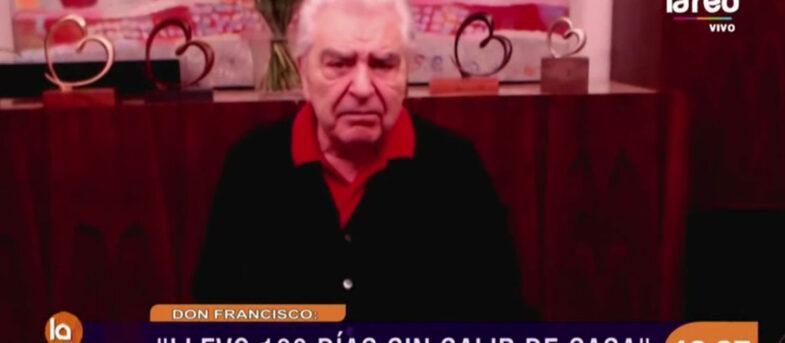 """La reflexión de Don Francisco en medio de la pandemia: """"Necesito mucho menos de lo que tengo"""""""