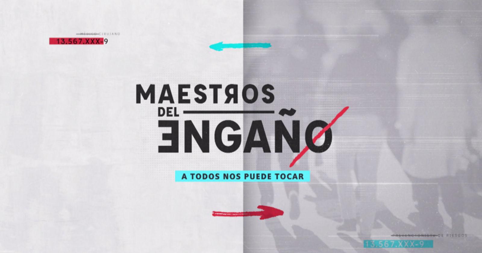 Maestros el Engaño llevó a TVN a liderar el bloque prime del jueves