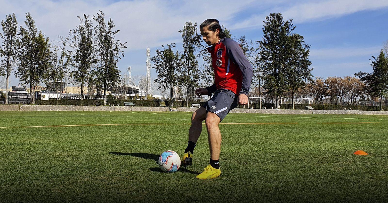 Matías Fernández reapareció en los entrenamientos de Colo Colo