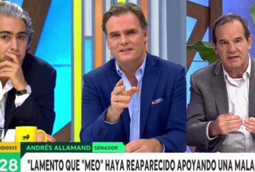 VIDEO – Discusión con Allamand y Gómez-Pablos marca regreso de ME-O a la televisión
