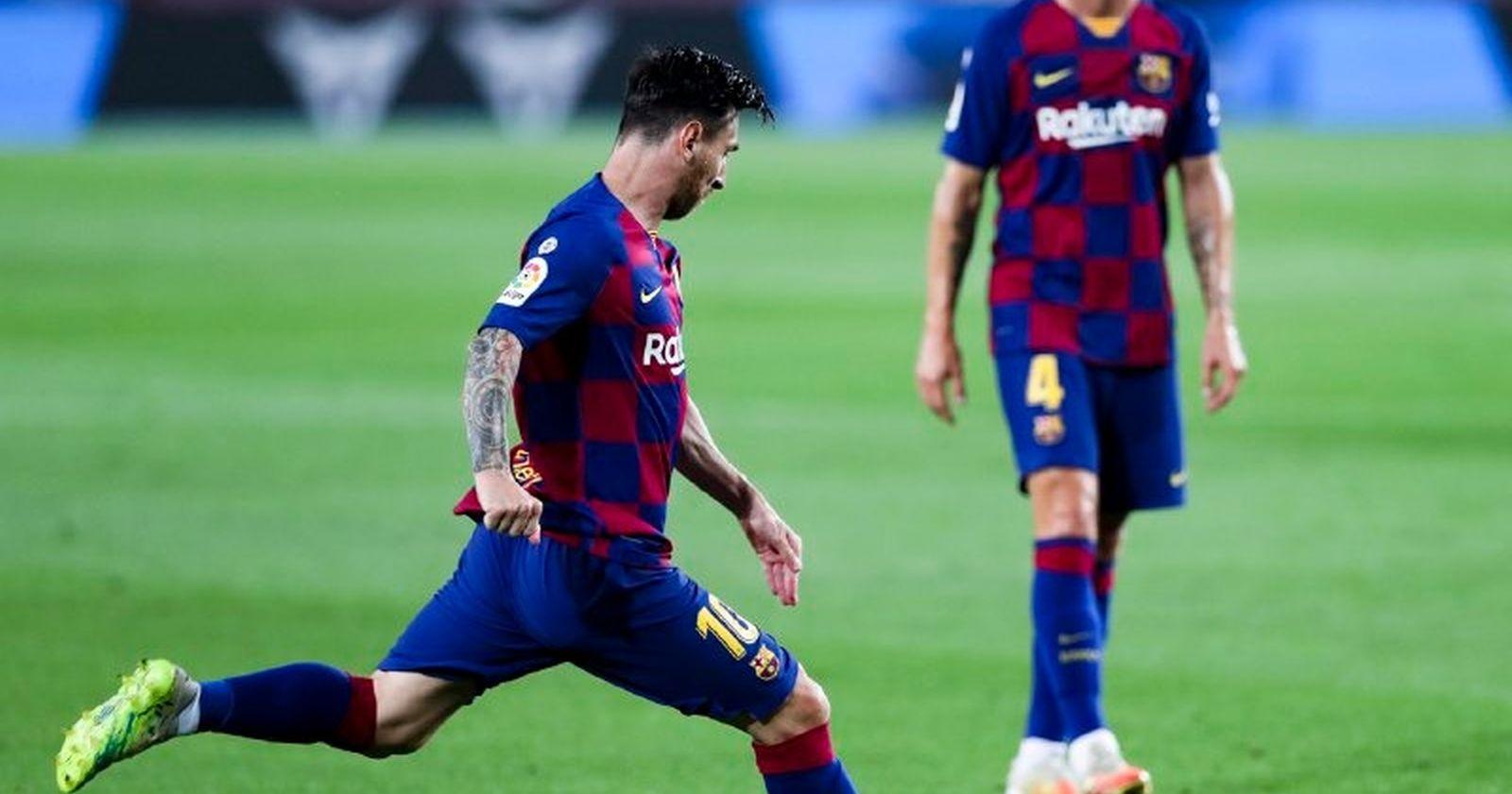 """""""FC Barcelona perdió ante Osasuna y le entregó el título a Real Madrid"""""""