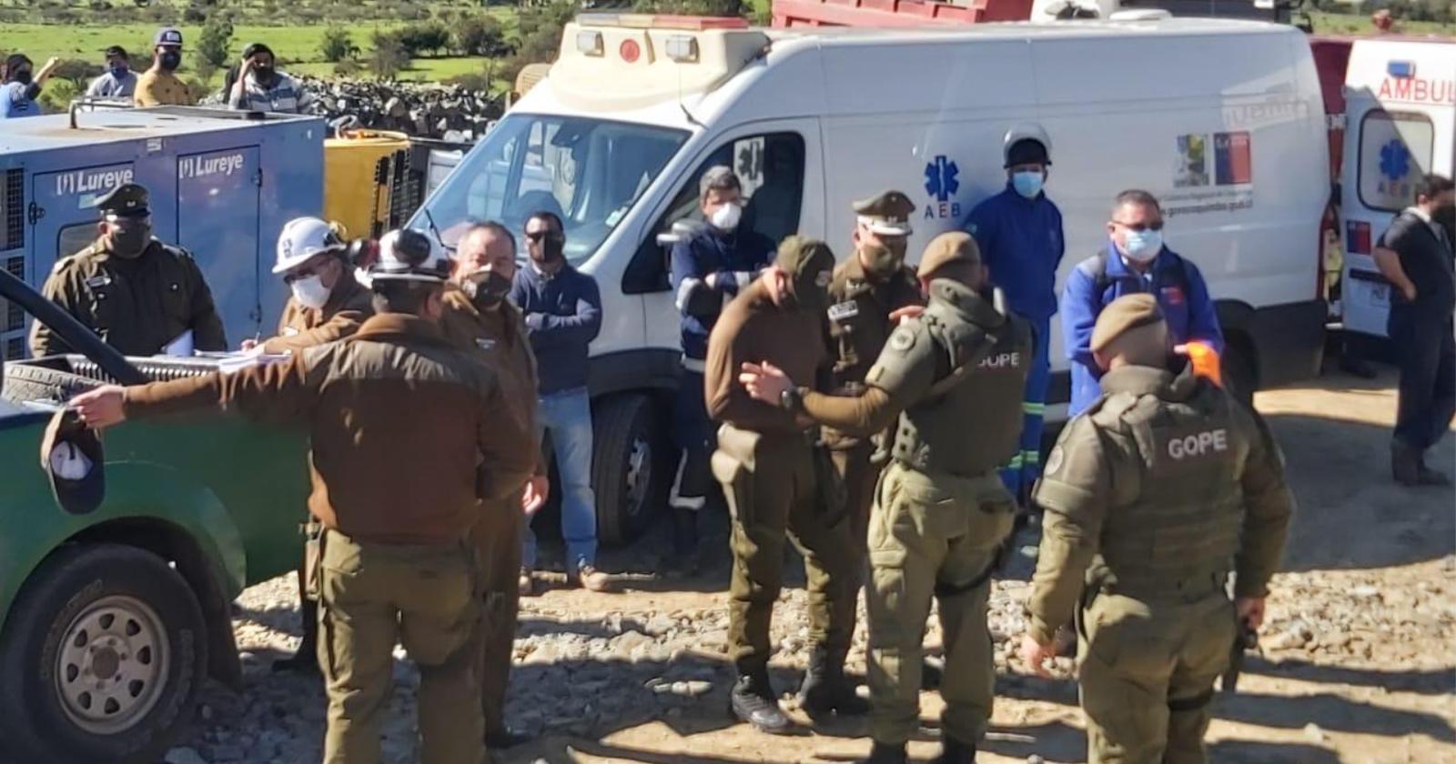 Coquimbo: al menos dos fallecidos tras explosión en mina La Poderosa