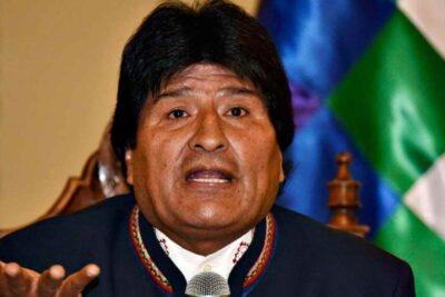 Fiscalía de Bolivia acusa a Evo Morales de terrorista y ordena su detención